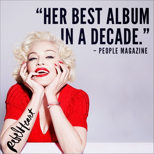 Madonna Rebel Heart Album Review