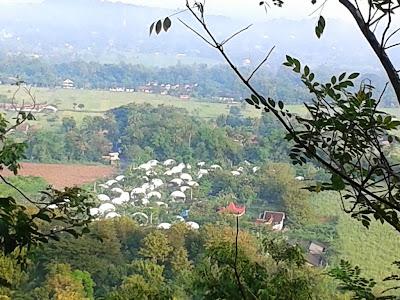 Gambar dari atas bukit