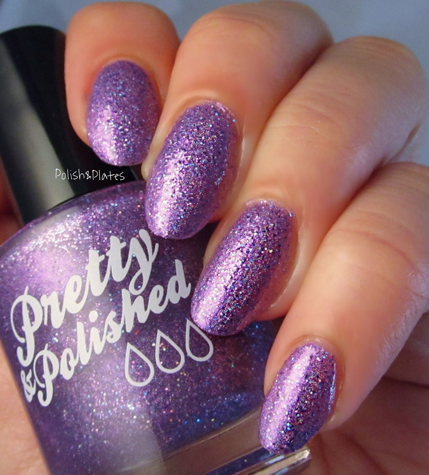 Polish & Plates: Pretty & Polished - The Color Purple Collection