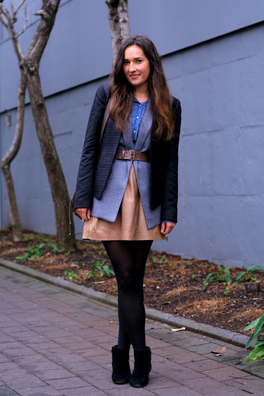 Foureyes New Zealand Street Style Fashion Blog Claire