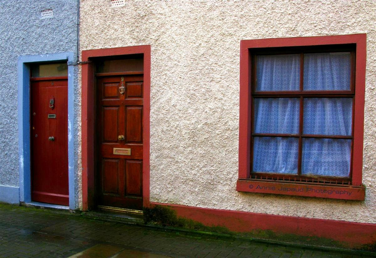 doors and windows in different colours in Galway city
