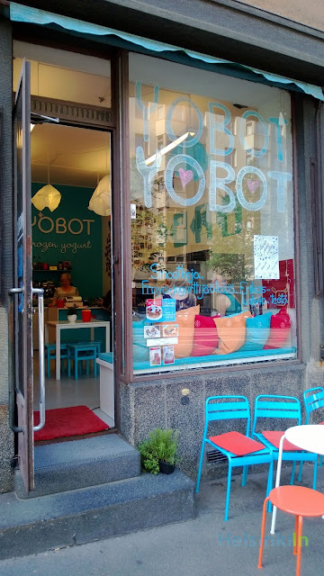 Yobot in Töölö