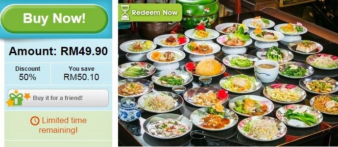 Asian buffet discounts