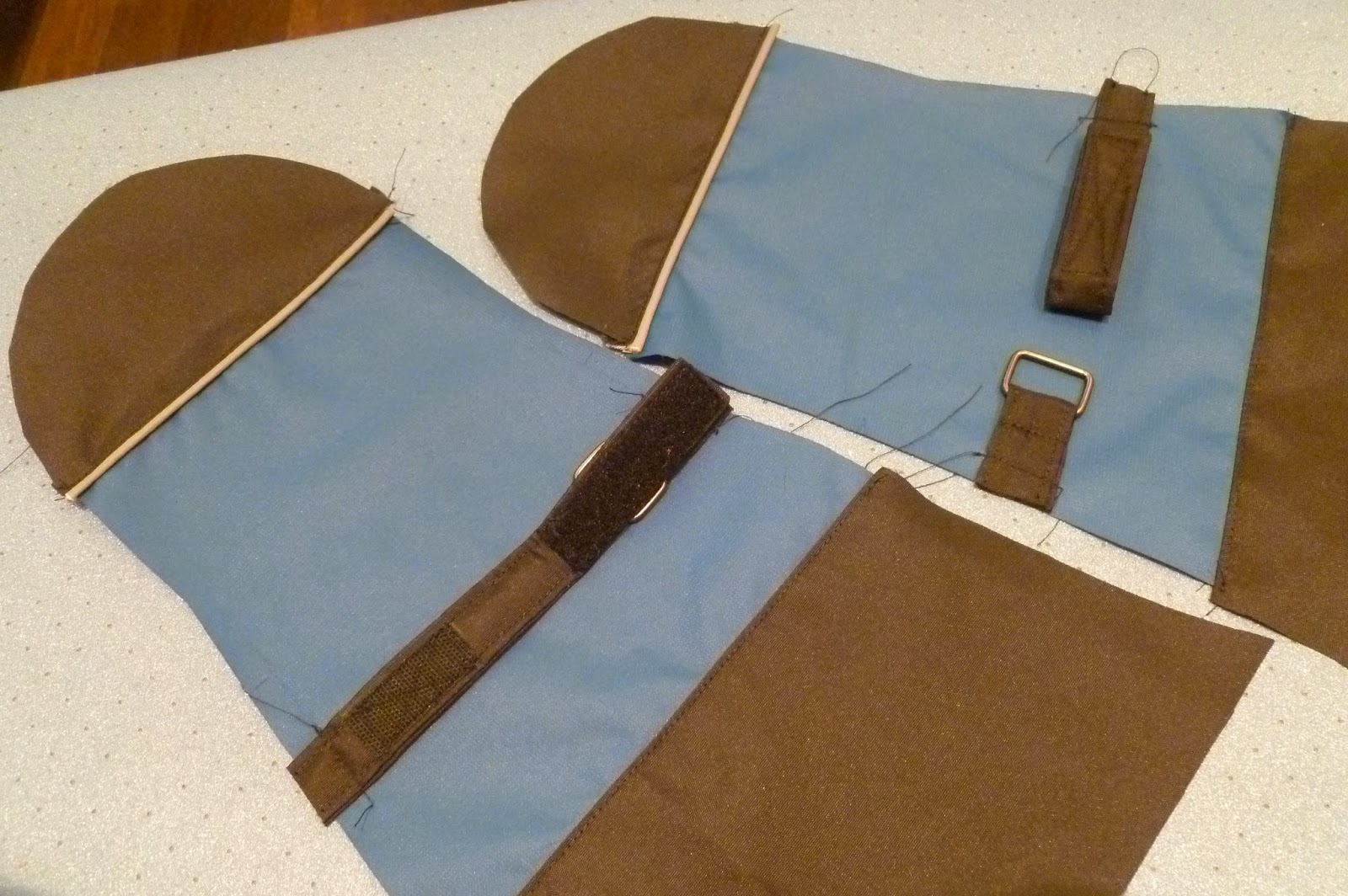 схема кармана с клапоном в простую рамку