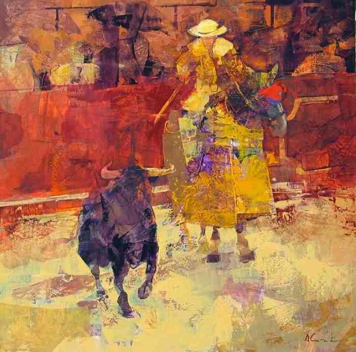 Испанский художник. Alfonso Cunado
