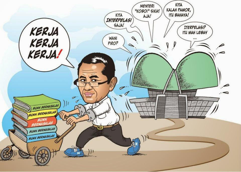 Gambar Karikatur Dahlan Iskan Manufacturing Hope Capres 2014