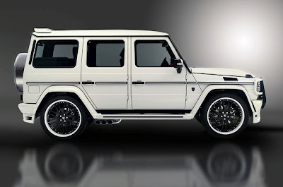 mercedes benz g serries - g 55 tuning