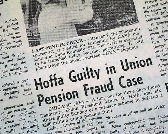 ... and Stuff): This Day in History: Jul 31, 1975: Jimmy Hoffa disappears