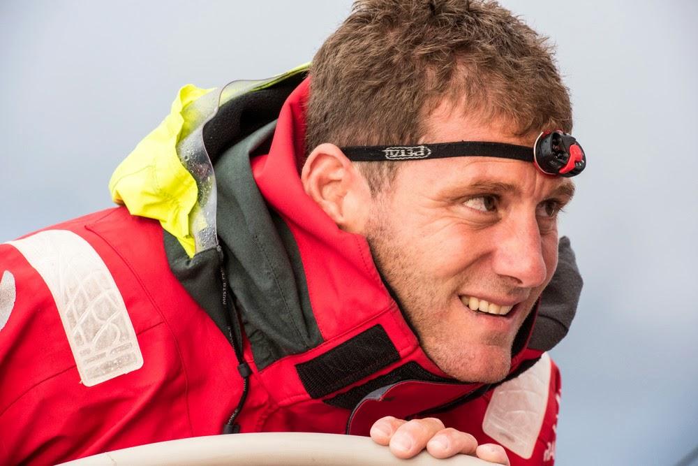 """Charles Caudrelier : """"Je suis de plus en plus en confiance avec la vitesse du bateau."""""""