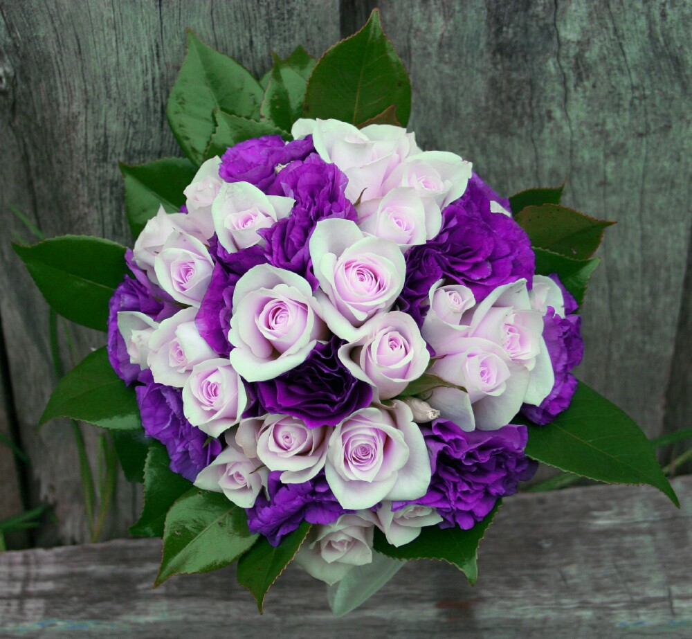 Steve Jobs Store Purple Spring Bouquet