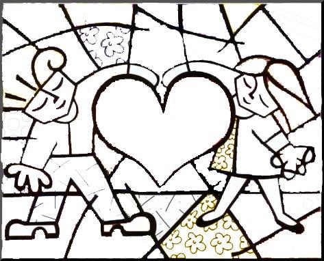 Dibujos De Romero Britto Dibujos Para Colorear Gratis