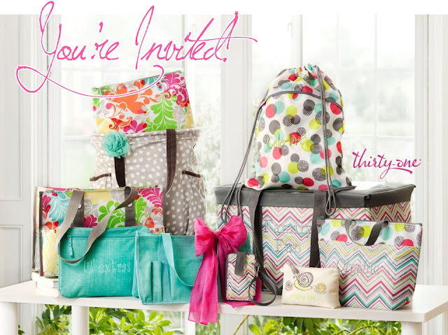 you to an online catalog party I am hosting for Thirty-One Gifts