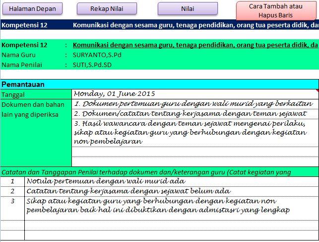 Aplikasi PKG PKKS Dengan Catatan