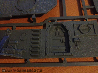 Wall of Martyrs Imperial Bunker sprue 3