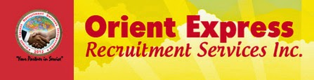 Jobs Davao: Female HR Staff for Orient Express Recruitment Services Inc. (URGENT)
