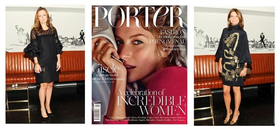 Porter Magazine, Lucy Yeomans and Natalie Massenet
