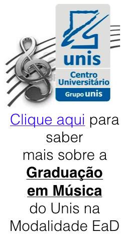 Faça graduação em música no UNIS EaD