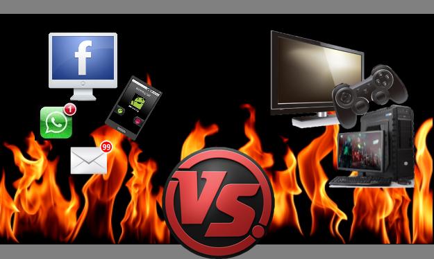 Gaming vs distractions