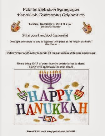 Community Hanukkah Celebration
