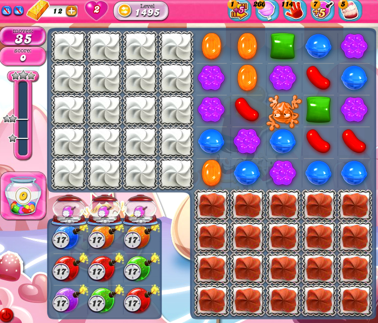 Candy Crush Saga 1495