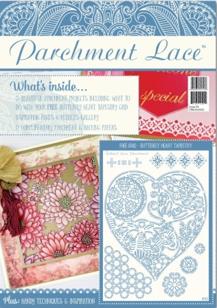 Editor of Parchment Lace Issue 4