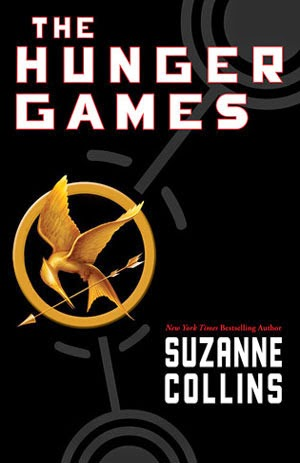 the cover of The Hunger Games by Suzanne Collins
