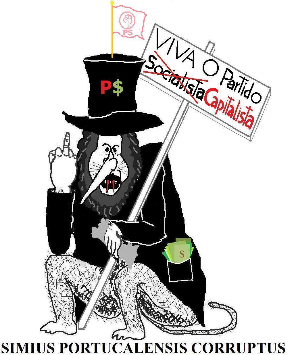 """Sindicato """"A voz do povo contra a Tirania"""" da UniRE Scan0001macacoPSimiuscorruptus5"""