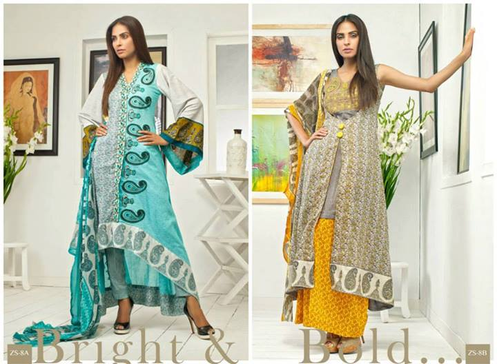 Pehnawa+Eid+Dress+Latest+Collection+by+ZS+Textiles+(10) Latest Pehnawa Eid Dresses by ZS Textiles