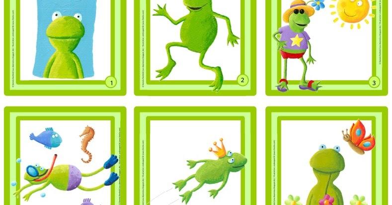 Ideenreise lesen mit frosch fridolin - Frosch auf englisch ...