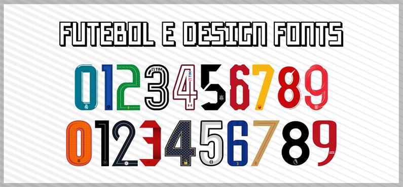 Futebol e Design Fonts