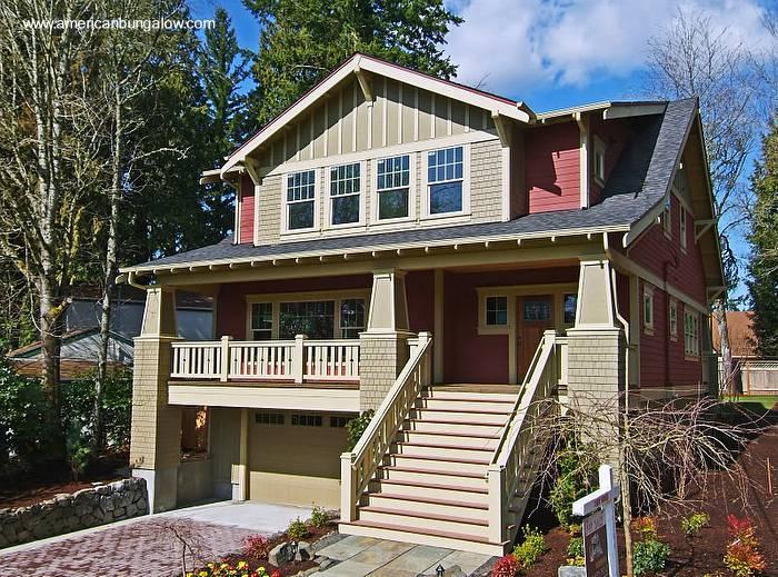 Arquitectura de casas ejemplos y modelos de casas americanas for Casas estilo americano