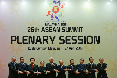 Asean Summit, Malaysia  on April 27, 1015