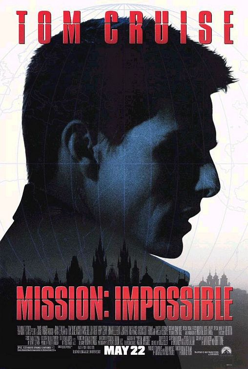 Mission Impossible movie poster