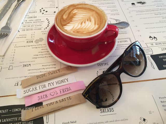 breakfast in manhattan best breakfast nyc brest brunch nyc new york city fendi sunglasses latte art  give me some sugar i love you a latte jacks wife freda jack's wife freda