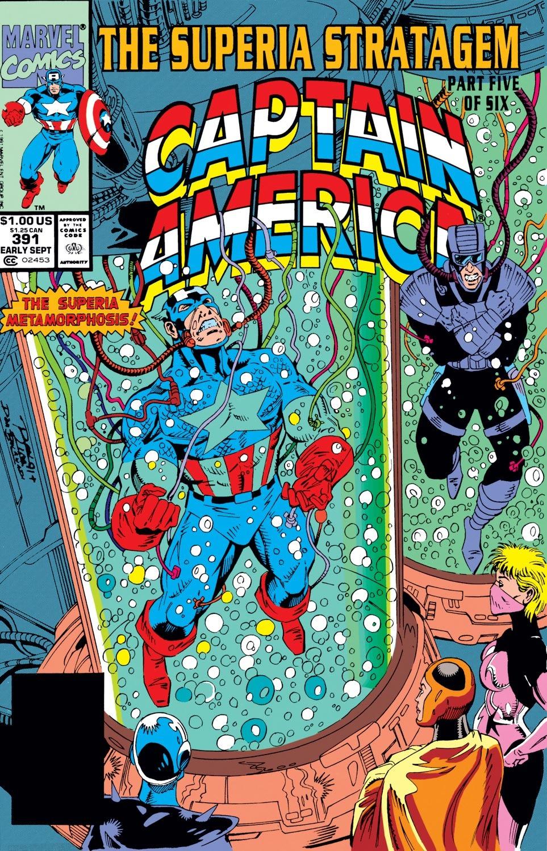 Captain America (1968) Issue #391 #324 - English 1