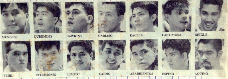 Philippine National Basketball Team 1998