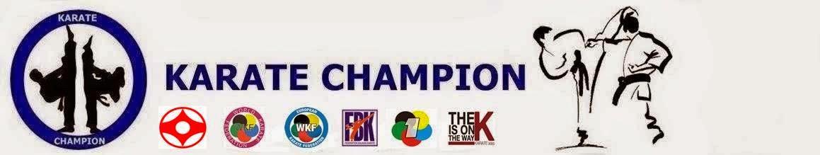 KARATE CHAMPION