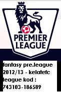 Jom Join EPL Fantasy Football(kelatefc league kod : 743103-186589)