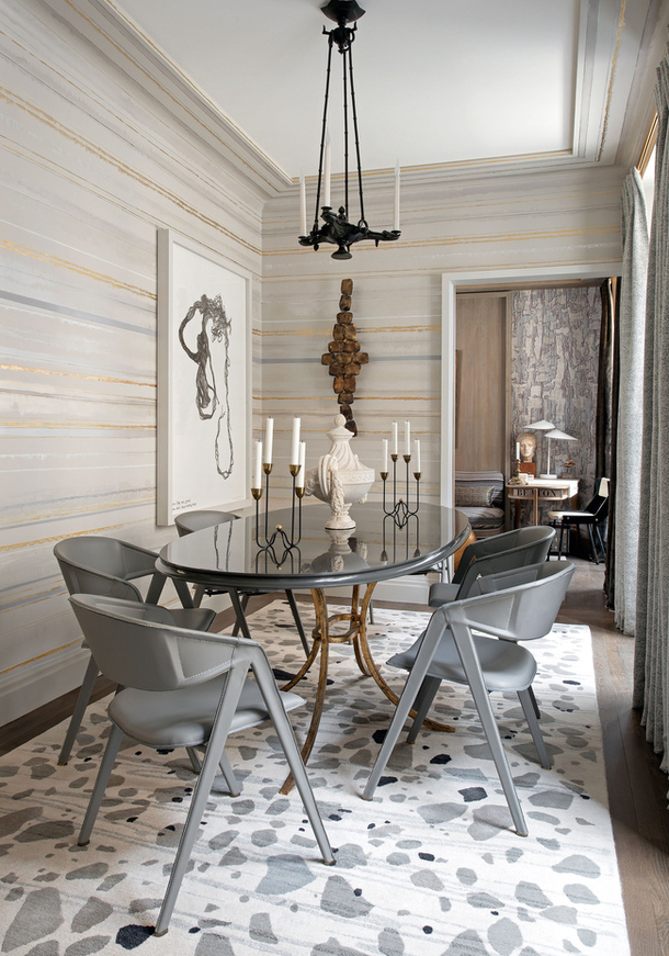 The Parisian Apartment of a Designer | S t a r d u s t  - Decor ...
