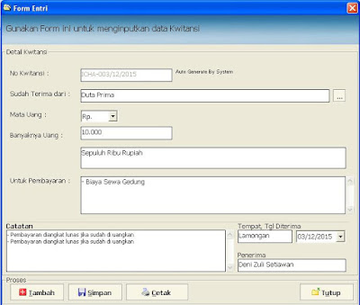 Download Software Cetak Kwitansi