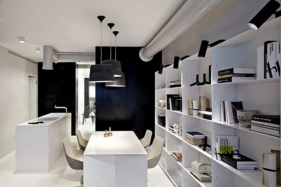 D couvrir l 39 endroit du d cor totalement contemporain for Apartamentos modernos minimalistas