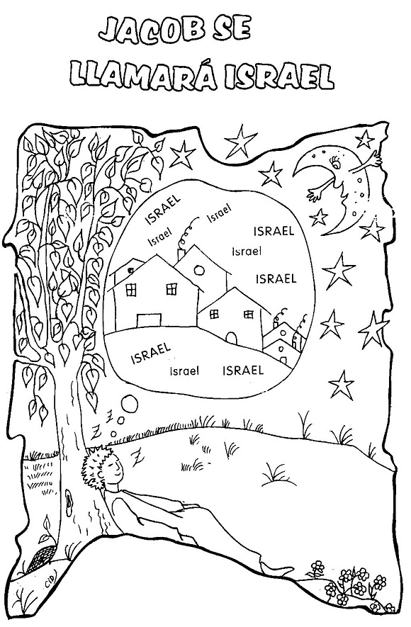 Imagen de Jacob para colorear[Historia bíblica de Jacob] ~ RECURSOS ...