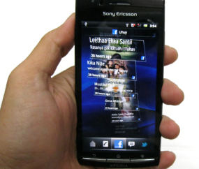 Fitur Xperia Arc, Android Terbaru