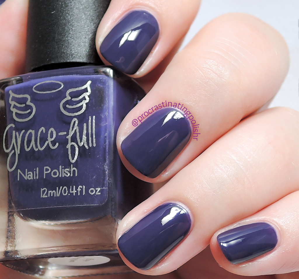 Eye Poppin - Grace-full Nail Polish | Peacock collection