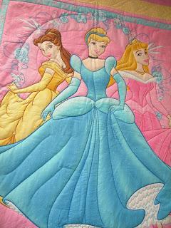 My Quilts: Disney Princess Quilt : disney princess quilt - Adamdwight.com