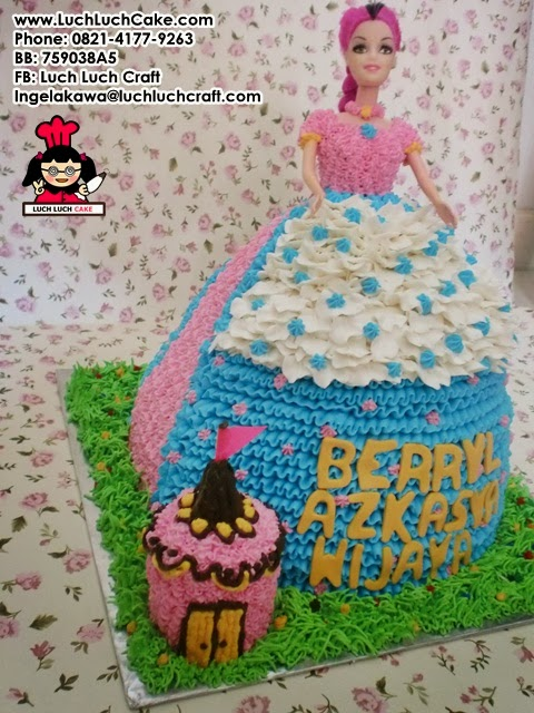 Kue Tart princess daerah surabaya - sidoarjo