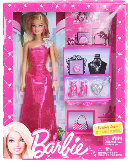 Barbie Boutique Stylist Fashion Doll