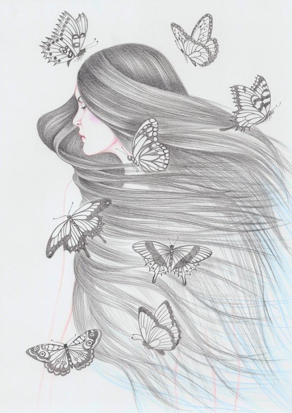 i love illustration magazine, illustration, artists, www.iloveillustration.nl, andrea hrjnak, drawings, art, art blog