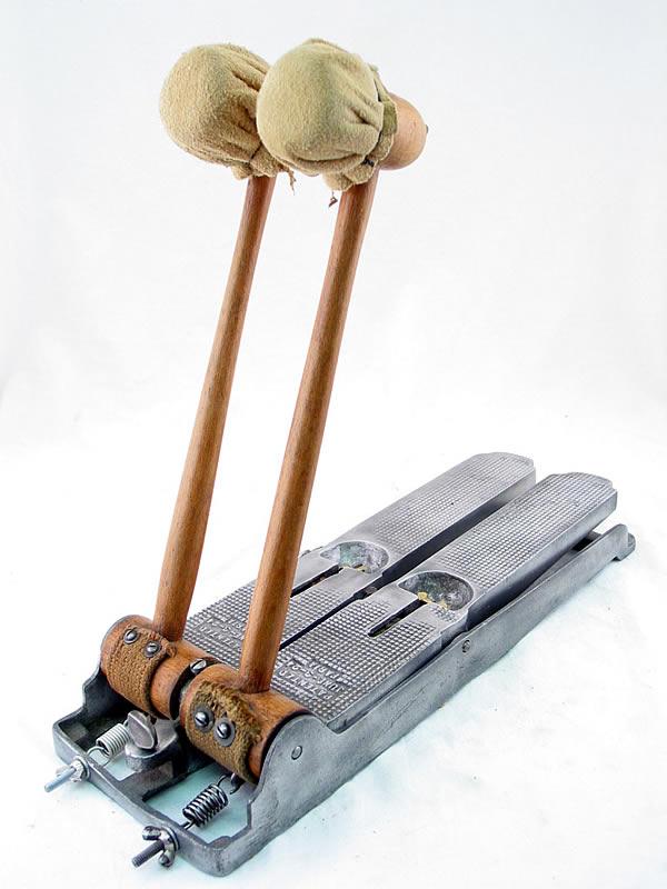 Самодельная педаль для барабанов