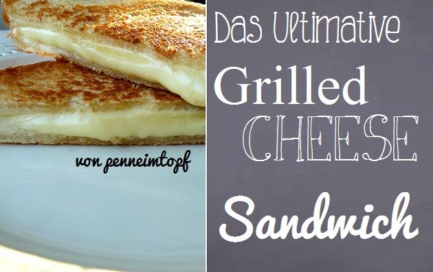 Sandwich in der pfanne